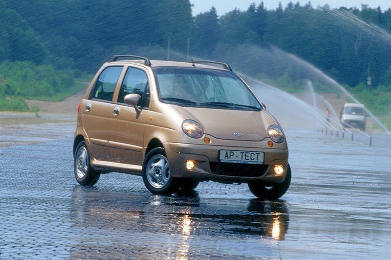 Daewoo Matiz маленькие автомобили для женщин