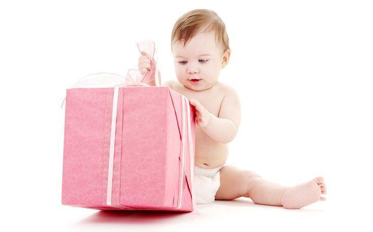 подарить ребенку младенцу