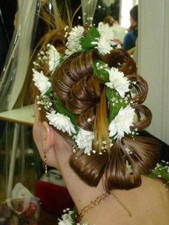модные прически на свадьбе
