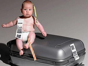 путешествовать с ребенком до года