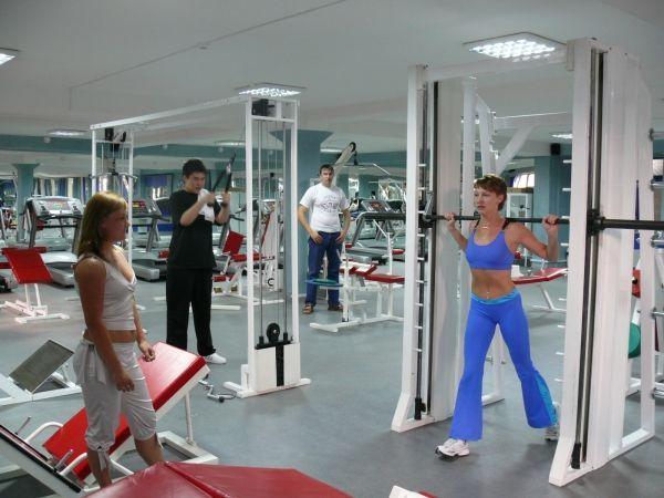 тренажерный зал для девушек