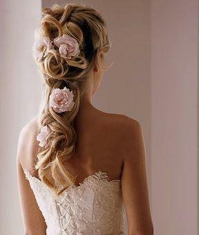 свадебные прически 2012 мода
