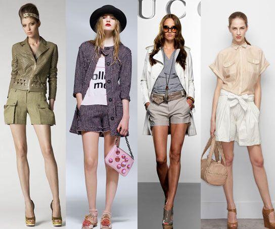 мода летом