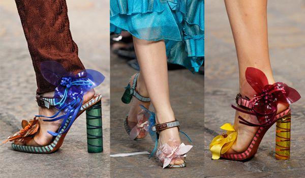 модная обувь лето-весна