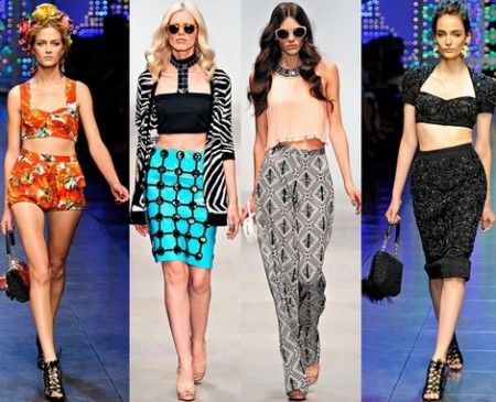 модные вещи весна-лето 2012