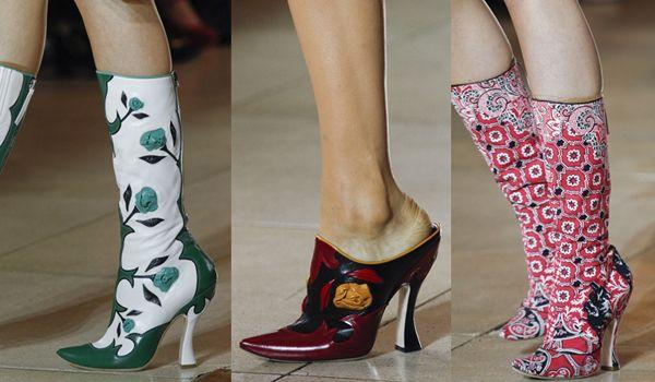 обувь 2012 - сапоги снова в моде