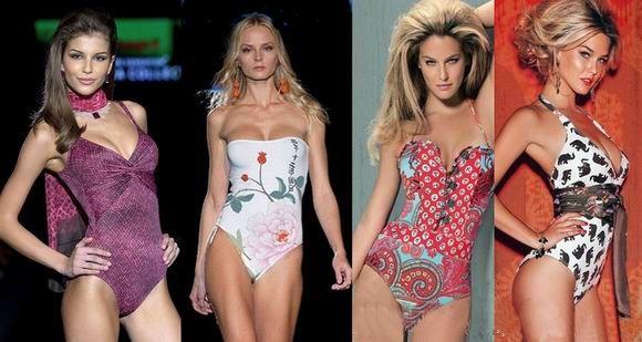 креативные и модные купальники 2012