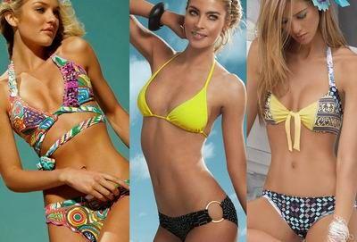 модные купальники 2012 на фото