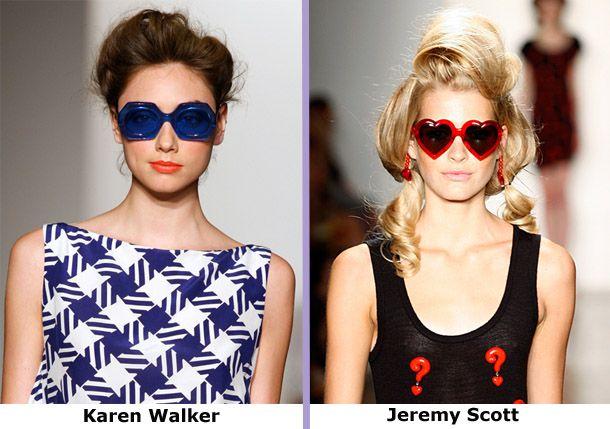 Модные солнечные очки 2012 года