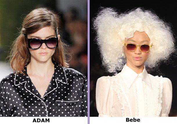 Солнечные очки женские модные образы