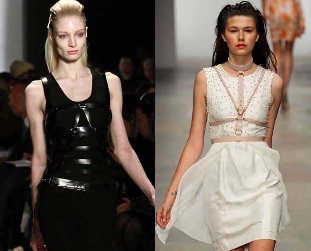 черные и белые летние платья 2012