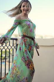 легкие модные летние платья