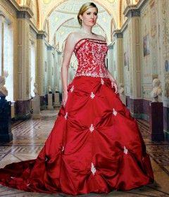летние платья 2012 в оттенках красного