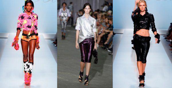 модные женские шорты 2012