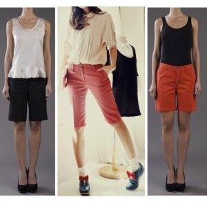 удобные и простые летние шорты