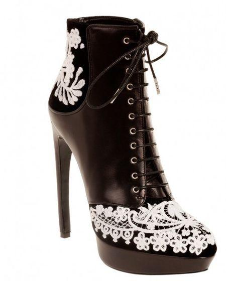красивая обувь осень 2012
