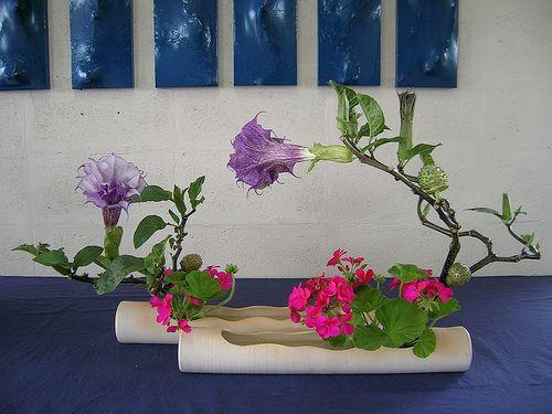 морибана икебана из цветов