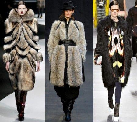 мода зима 2012 2013 шубы нового поколения