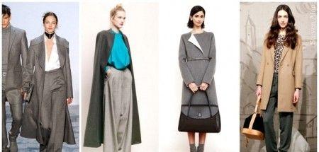 модные тенденции пальто 2012