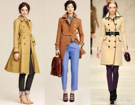 самые модные молодежные пальто осень 2012