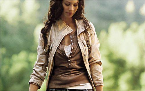 стиль в одежде современной девушки
