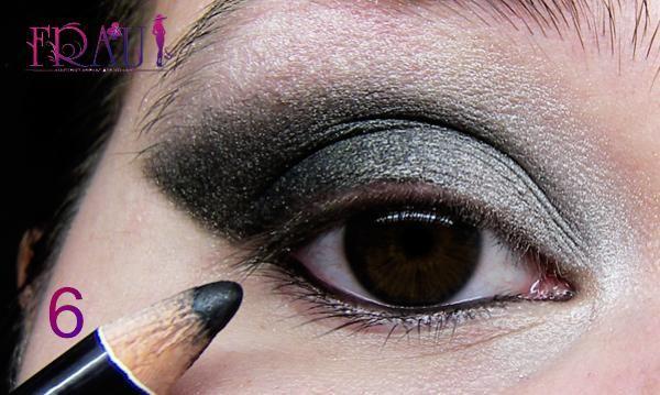 придаем макияжу для карих глаз выразительность