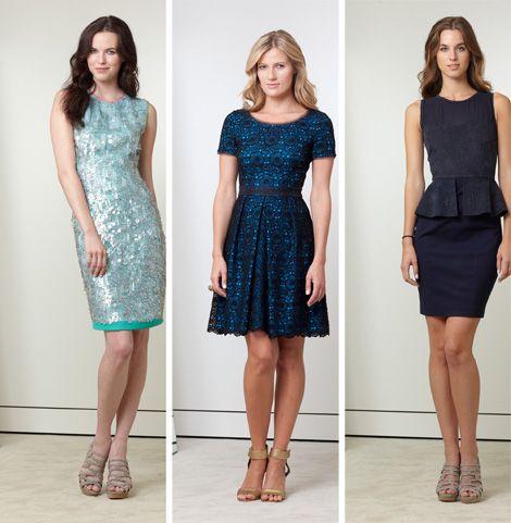 Классические платья на новый год 2013