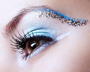 макияж на новый год 2013 со стразами