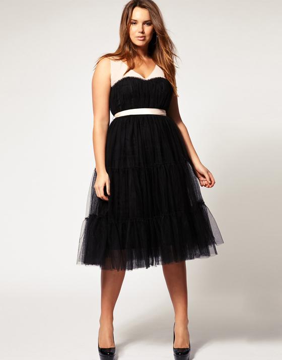 летние платья 2013 для пышных форм