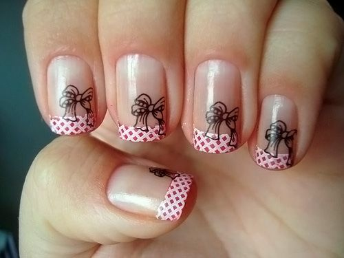 Красивые рисунки на коротких ногтях фото онлайн