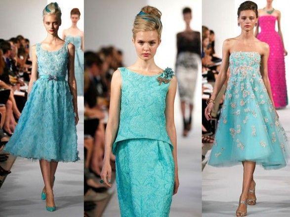 воздушные летние платья 2013
