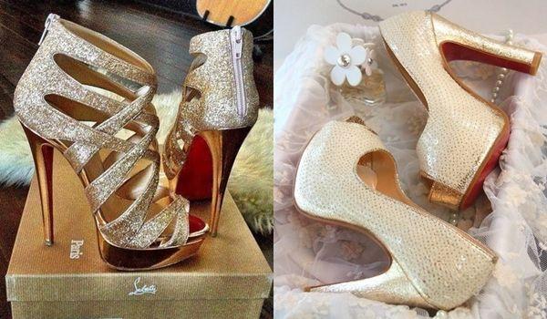 яркая обувь на новый год