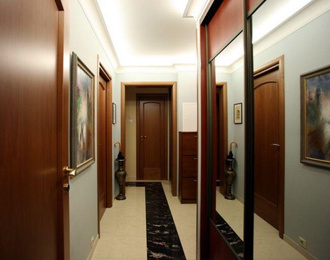 Дизайн узких прихожих в квартире фото