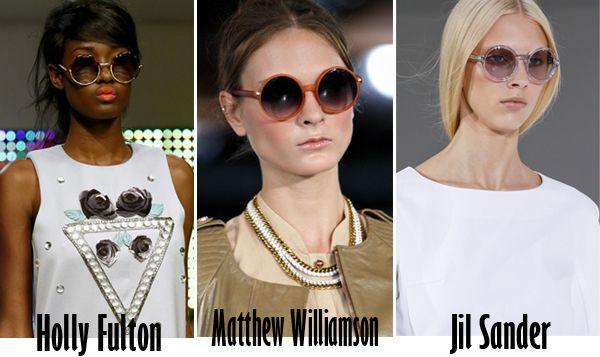 модные круглые очки