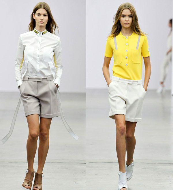 шорты с отворотами мода летнего сезона