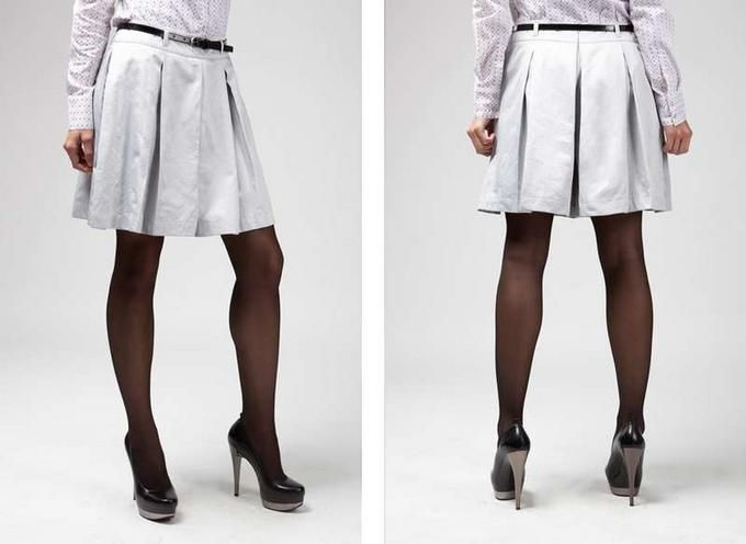 шорты в виде юбки