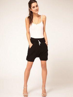спортивные шорты тоже модные