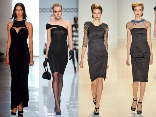 модные платья для корпоративов и новогодних вечеров
