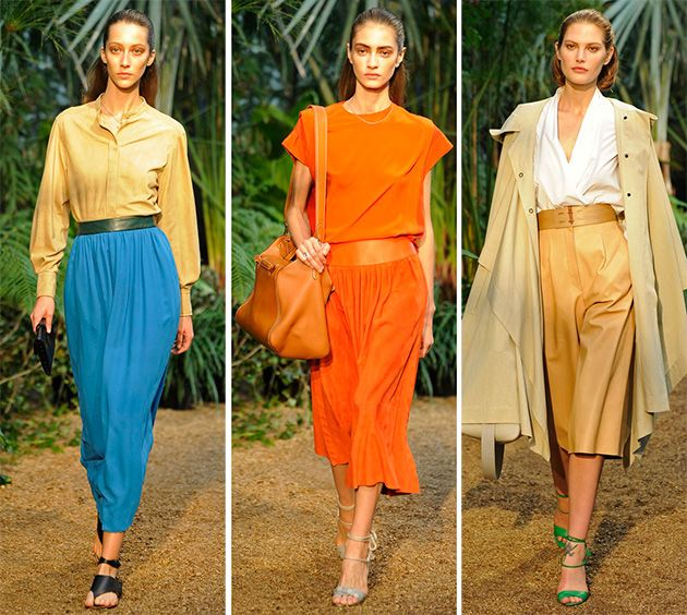 Летние блузы различных цветов