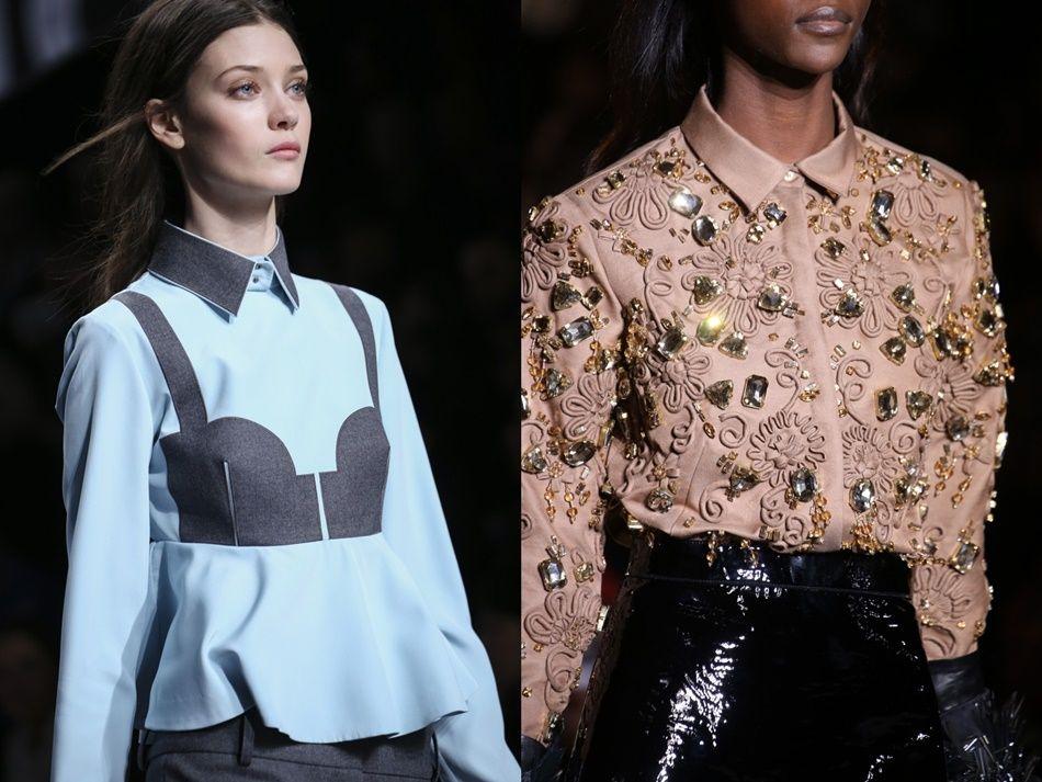 Viktor Rolf Rochas блузки-рубашки