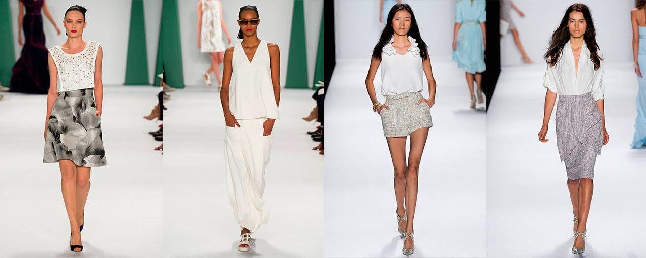 модные белые блузы