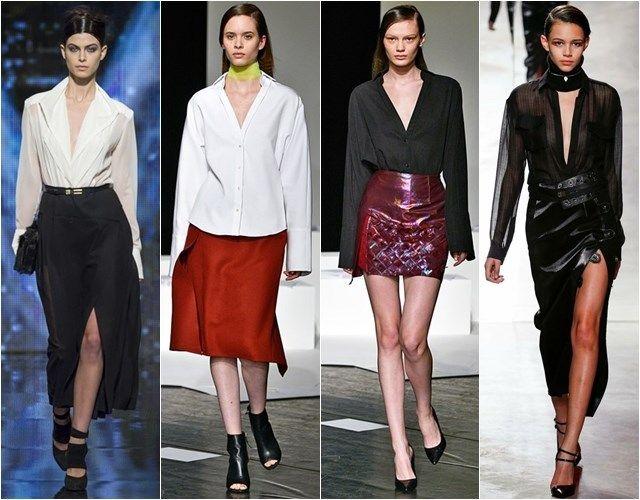 модные блузки с вырезами