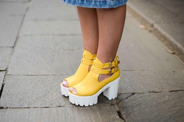 модные туфли с мощной подошвой