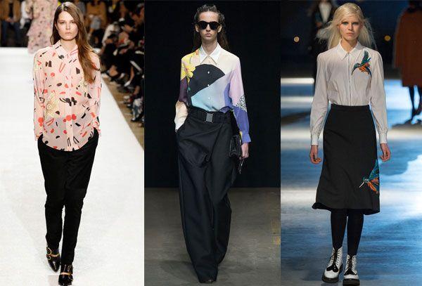 модный показ лучших блузок
