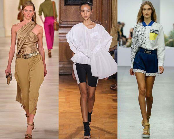 оригинальные идеи блузок от модных домов