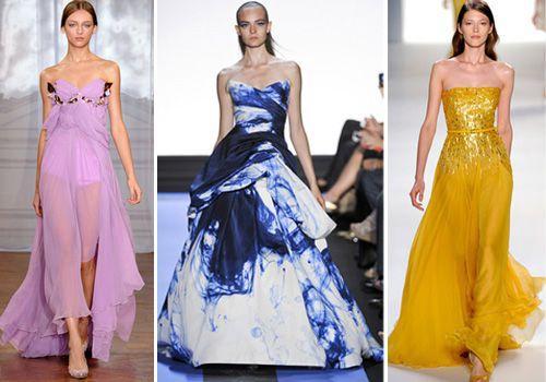 королевская мода платья бандо и бюстье