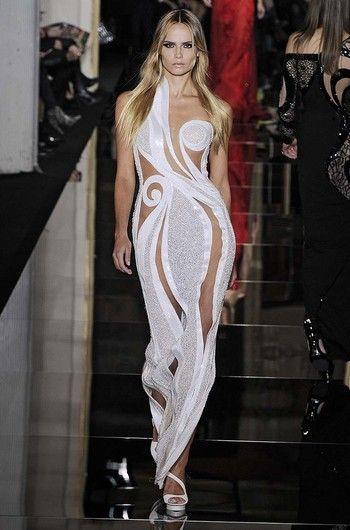 креативное платье с узором для торжества