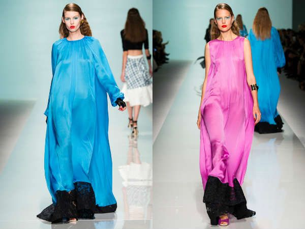 лучшие модели платьев из категории свободного покроя