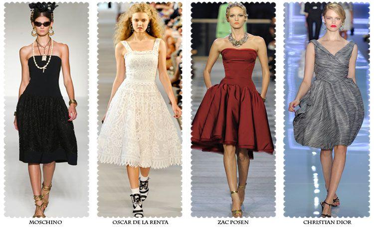 мода на платья от лучших модельеров