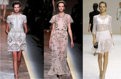 модные платья весна лето